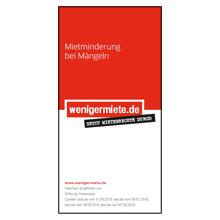 Infomaterial wenigermiete.de