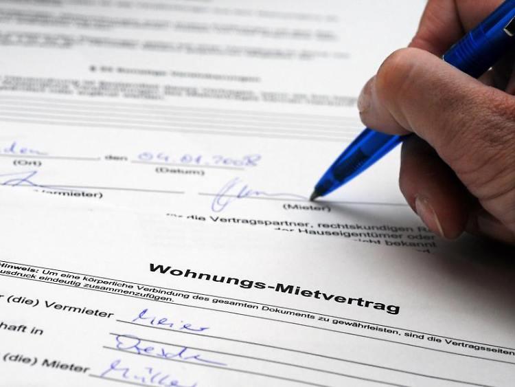 Mietvertrag Unterzeichnung